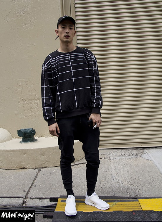 Sung Jin, street, style, street style, menswear, nyfwm, fashion week, mens fashion, trends