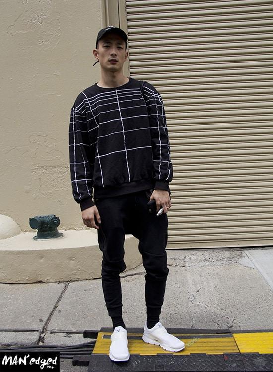 Sung Jin, street, style, street style, menswear, nyfwm, fashion week, mens fashion, trends