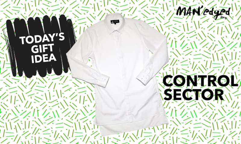men's gift guide, control sector, button up shirt,men's gift guide, control sector, shirt, michael william g, editor's note, letter from editor, man'edged.com, man'edged.com magazine, manedged magazine, MAN'edged magazine, MAN'edged mag, menswear, nyc, new york city, men's fashion, men's style, style, men's look, camel wool coats, camel, wool, coat, this or that, holiday, holiday gift, holiday gift guide, gift, gifting, mens gift guide, guide, gift guide, holiday gift guide