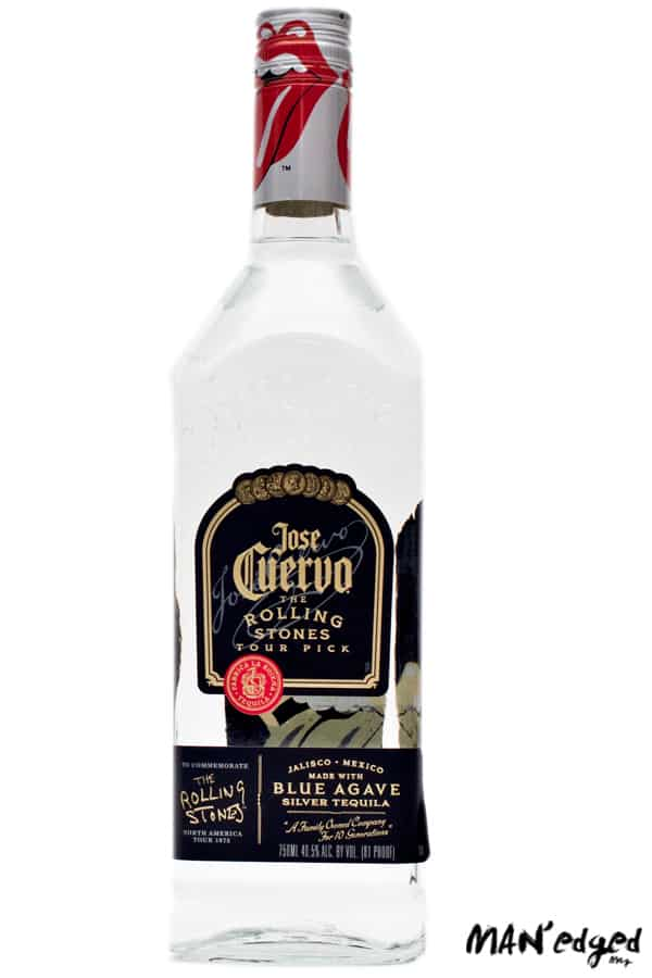 Jose Cuervvo Tequila Rolling Stones Bottle perfect for any occasion