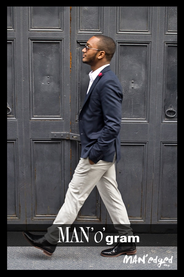 victor jolley, blazer, khaki, men's blazer, gentleman walking, men's style, men's look, new york, new york city, men's fashion