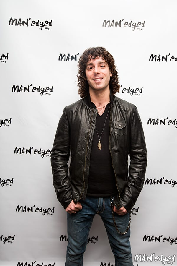 Tennessee based music artist Josh Taerk at the MAN'edged Magazine New York Men's Fashion Week Celebration in New York City.