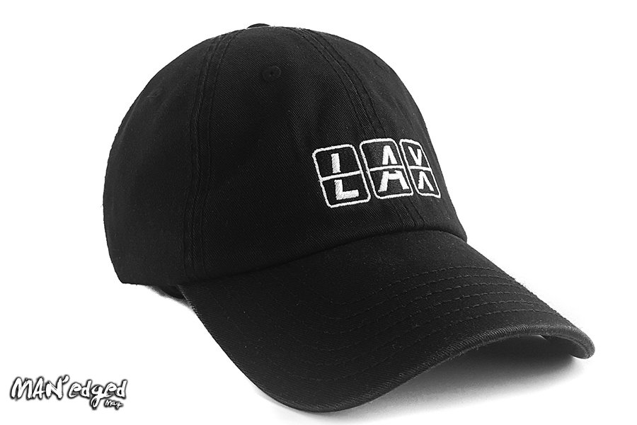 Editor's Pick: NxTSTOP Caps black LAX dad hat