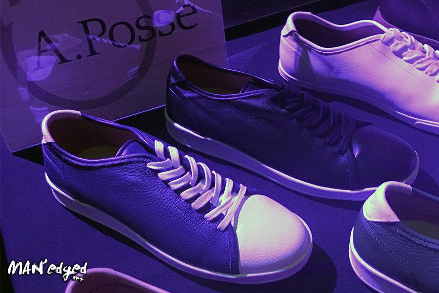 Men's shoe designer highlight at the MAN'edged Magazine Style + Music Event