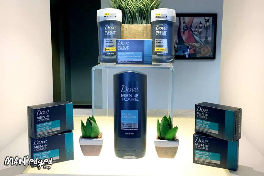 men's body wash, Dove Men+Care full men's body care system