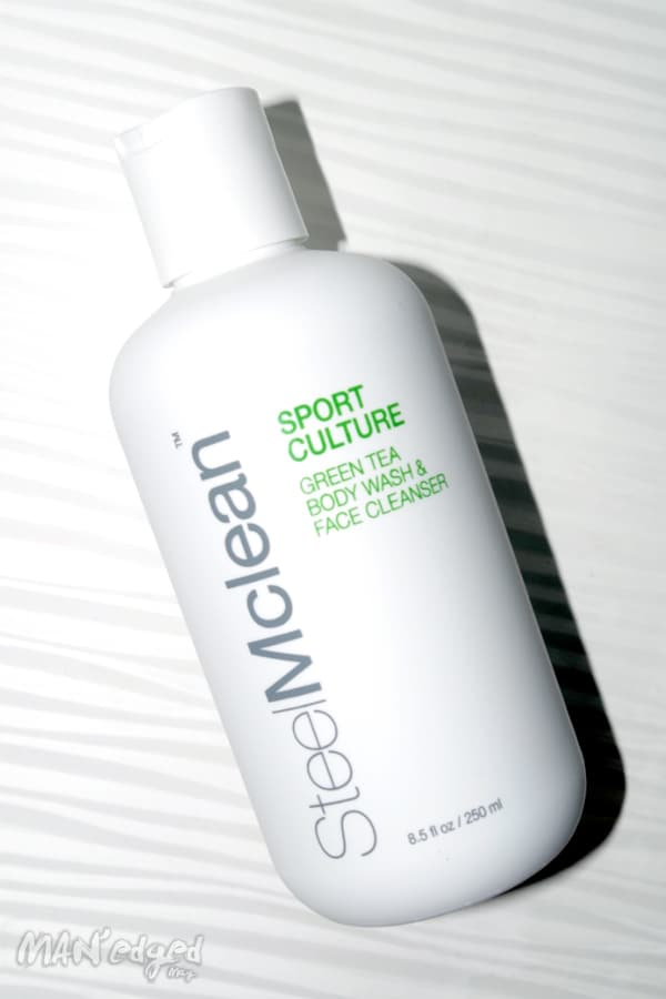 SteelMclean Sport Culture Men's Skin Care Face and Body Cleanser