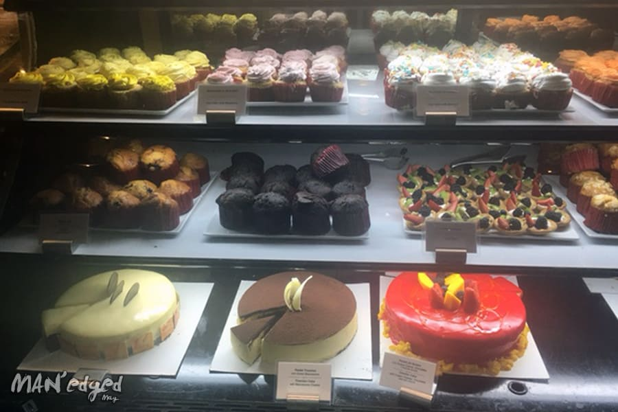 Wide assortment of endless desserts.