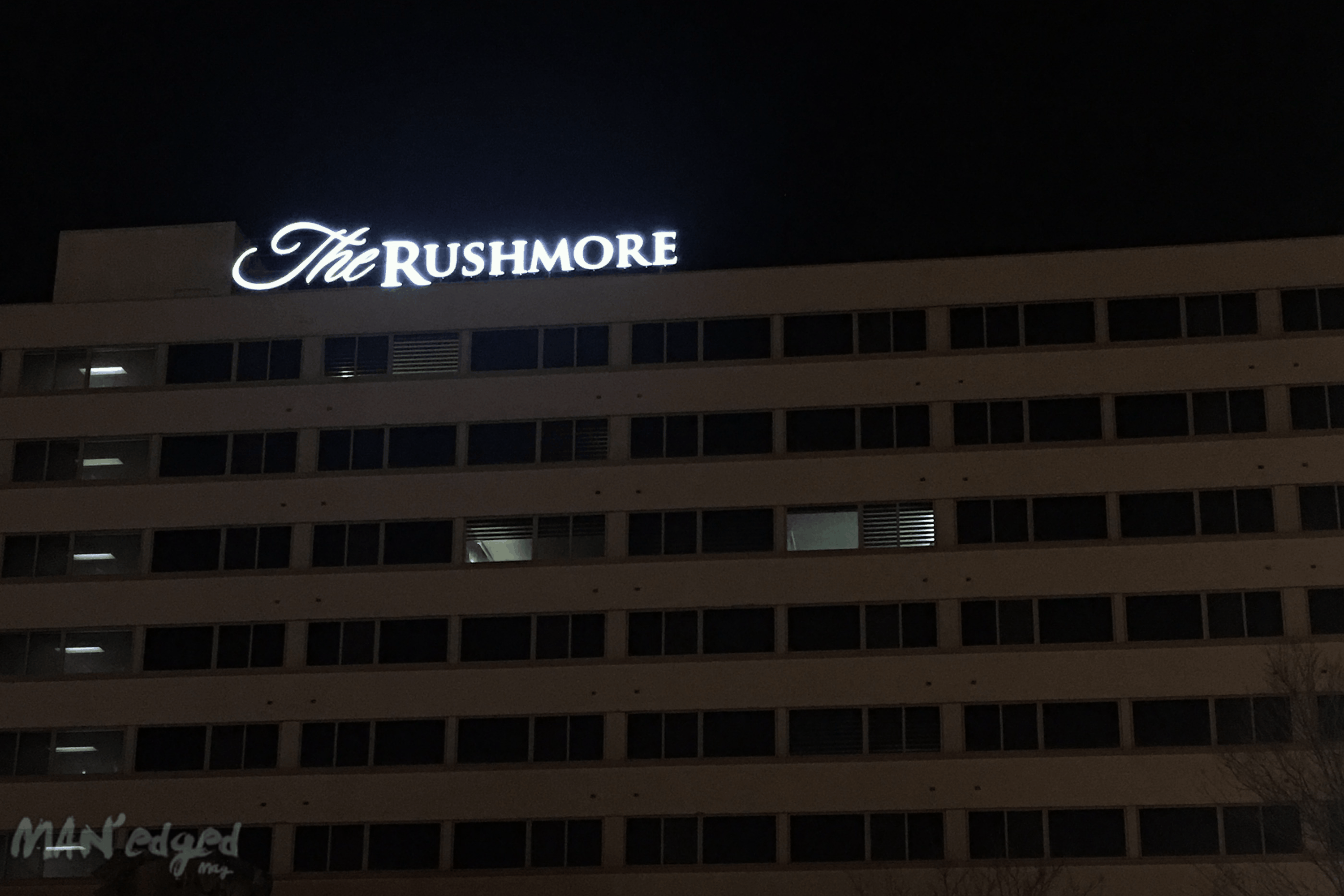 The Rushmore Hotel and Suites building.