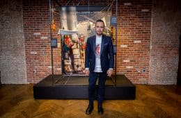 Menswear designer Carlos Campos at the Jose Cuervo 222nd tequila anniversary