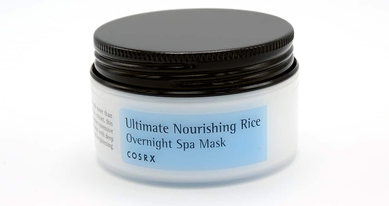 COSRX overnight spa mask container