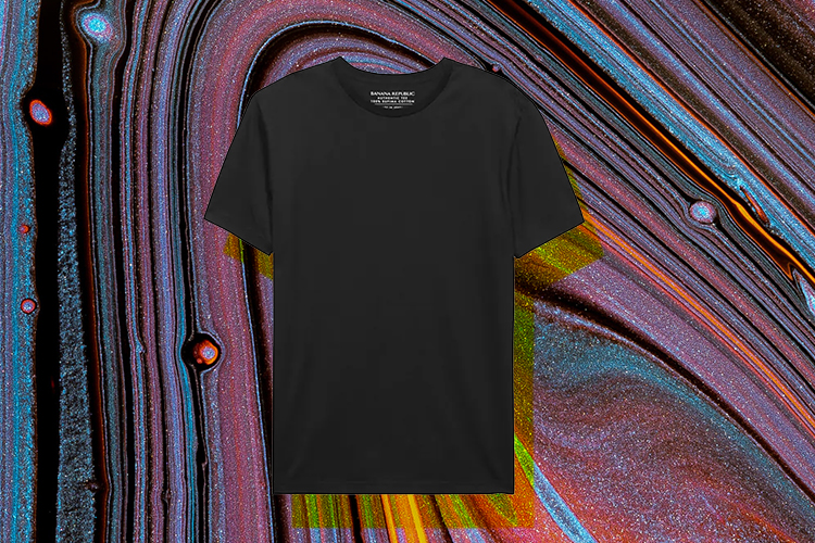 Best men's black crew neck t shirt by banaa republic