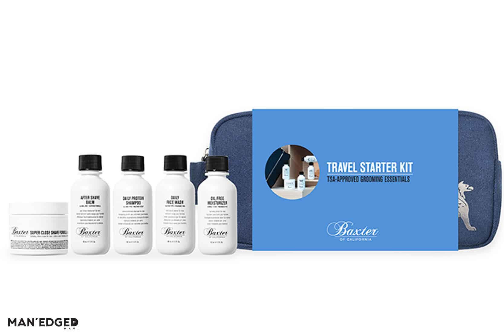 Gift Ideas for the journeyman featuring Baxter Travel Kit