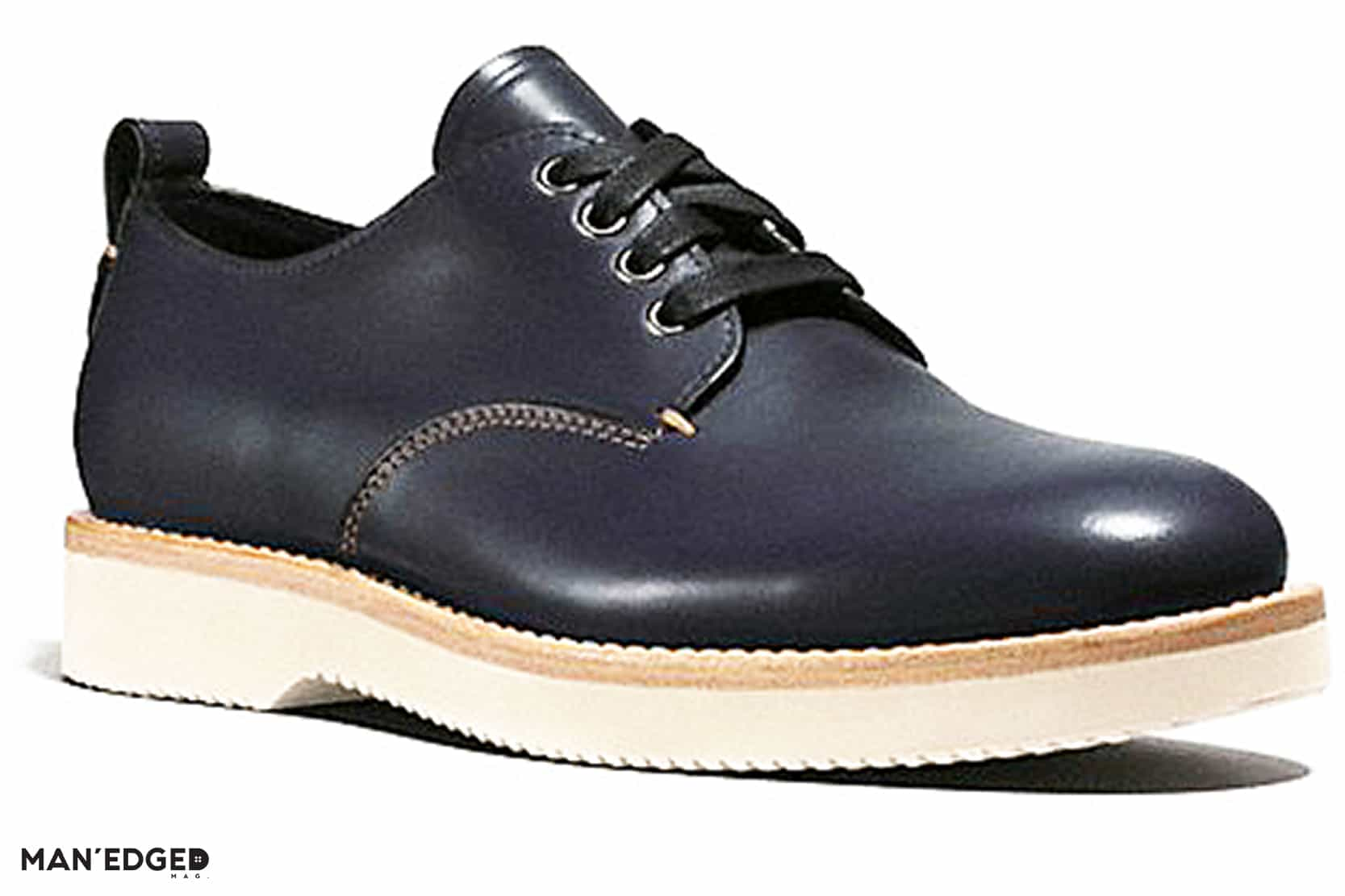 Men's Derby Shoe from Coach featured in Gift Ideas for the Dapper Guy