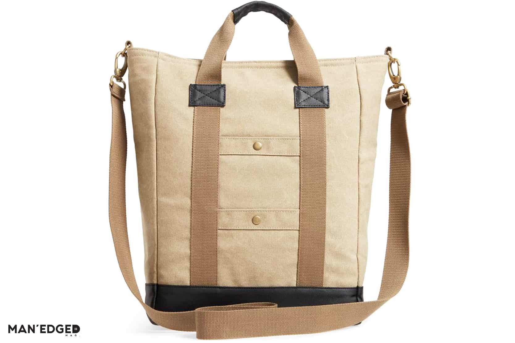 The Outdoorsman Gift Guide featuring Men's HEX tote bag from Nordstrom