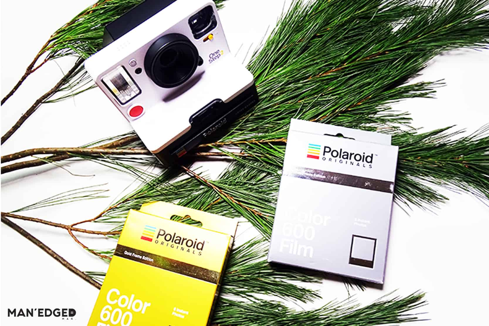 Polaroid One Step 2 in MAN'edged Magazine's best gift ideas for the tech guy