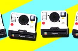 MAN'edged Magazine features the Polaroid OneStep2 Camera