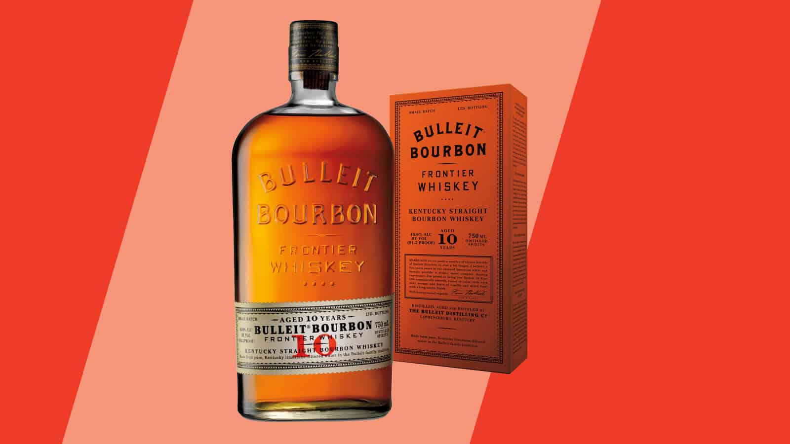 Bulleit Bourbon 10 Year Bottle