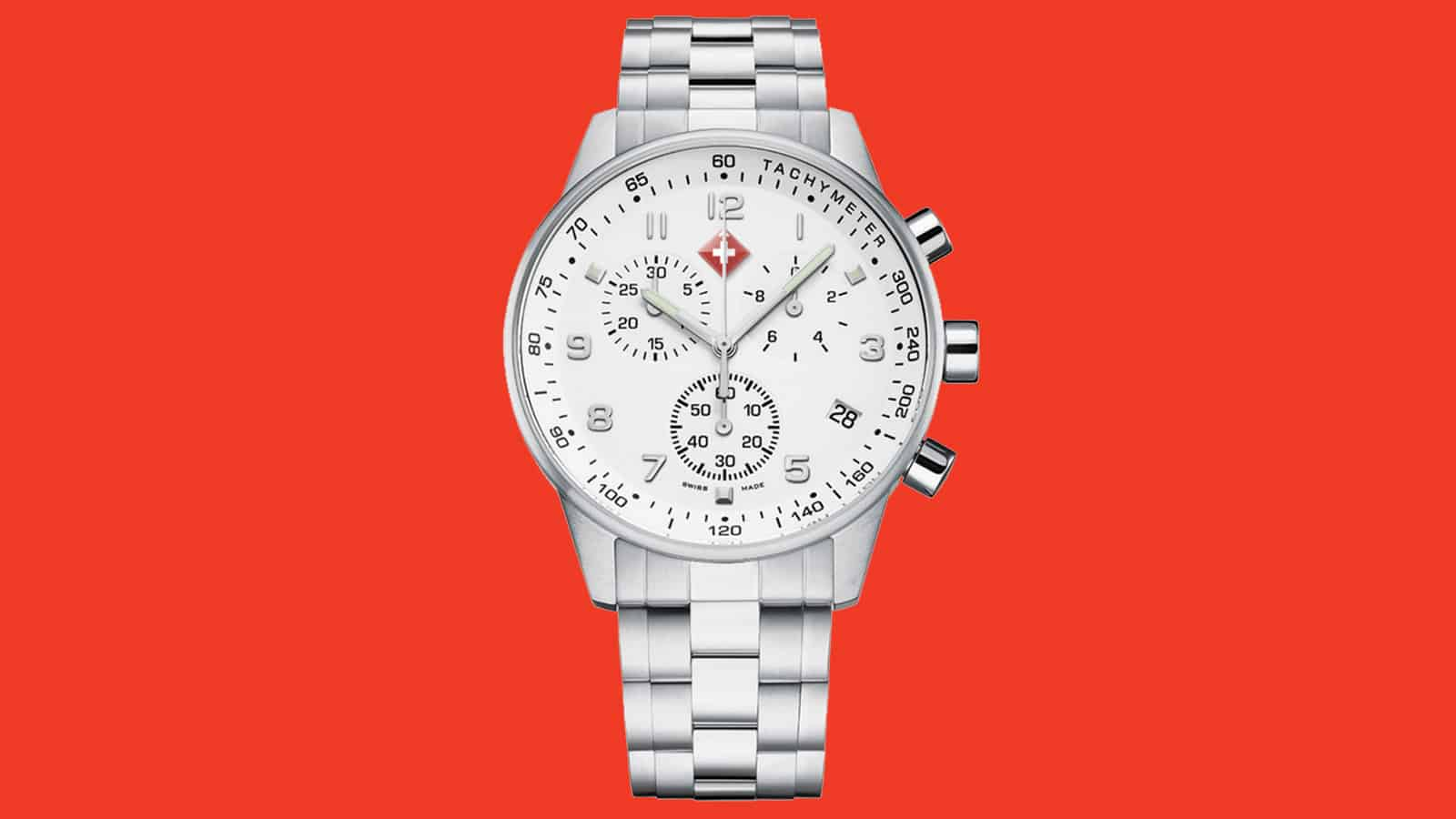 L'HEURE LUXE stainless steele men's watch