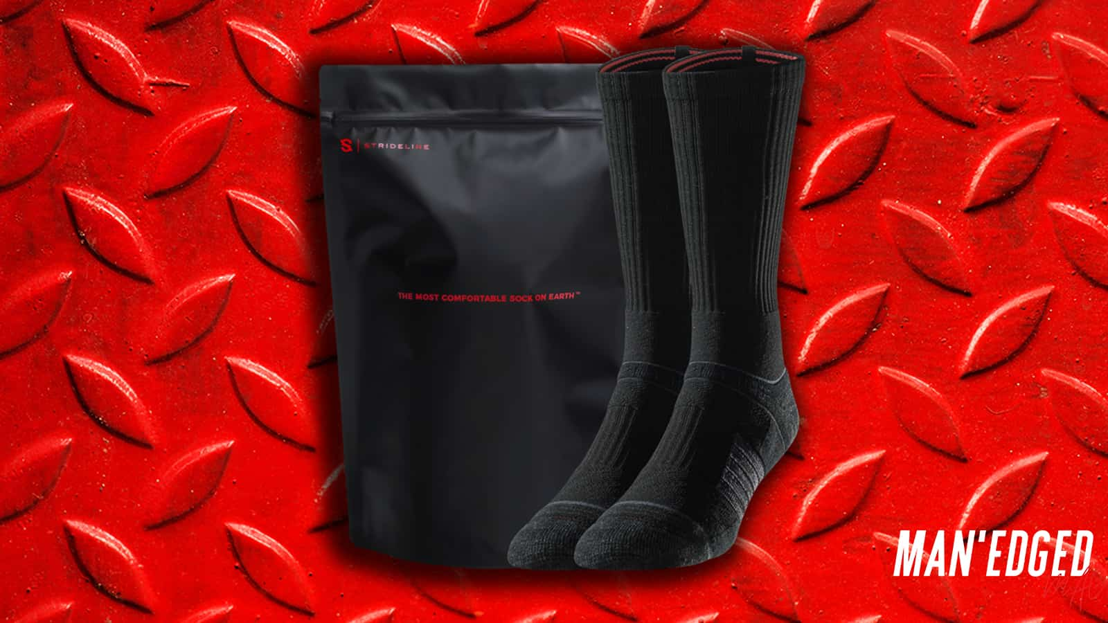The best gifts for men - our top 19 gifting ideas that guys will love - black men's strideline socks.