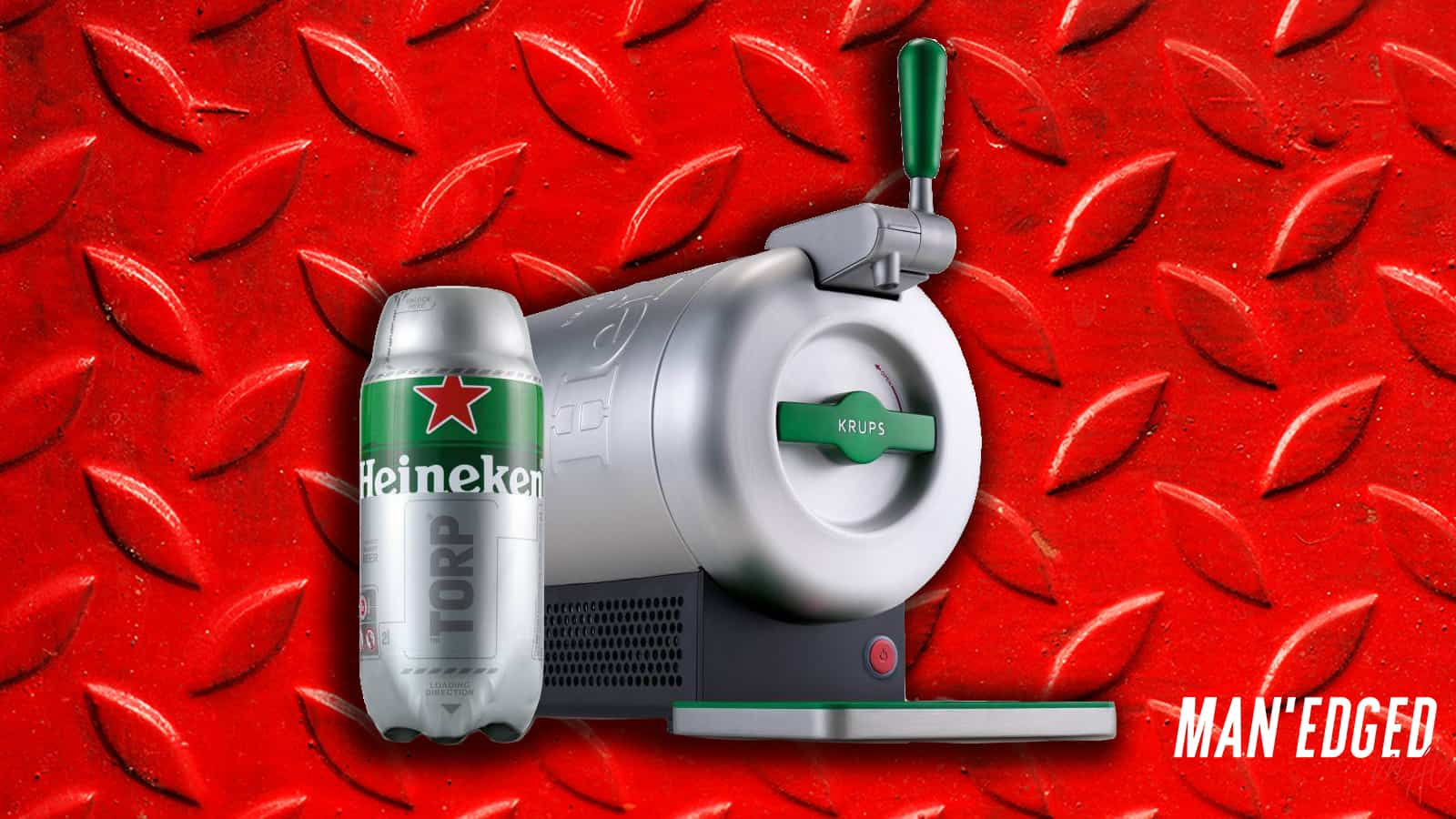 The best gifts for men - our top 19 gifting ideas that guys will love - the SUB from Heineken home draught system.