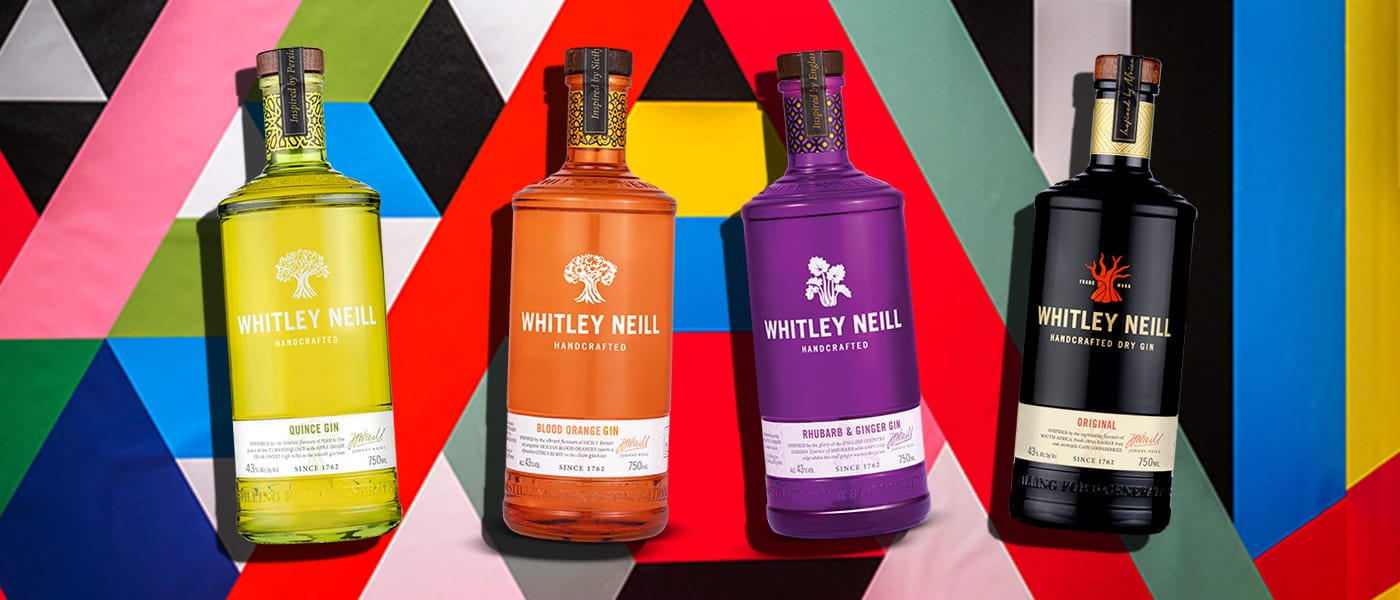 whitley neill variety of gins