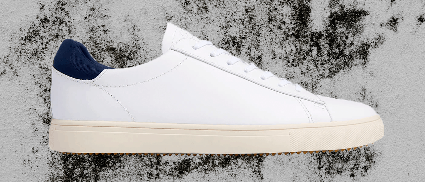 Bradley men's white shoe featured in our 7 best sneakers for Fall roundup.
