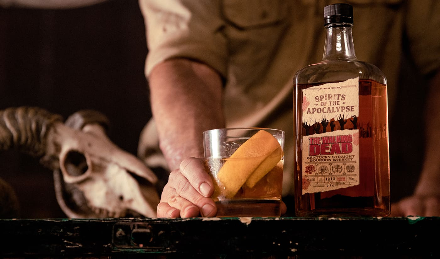 The Walking Dead Kentucky Straight Bourbon Whiskey is a Limited Edition Offering, Celebrating the Groundbreaking Comic Book Series