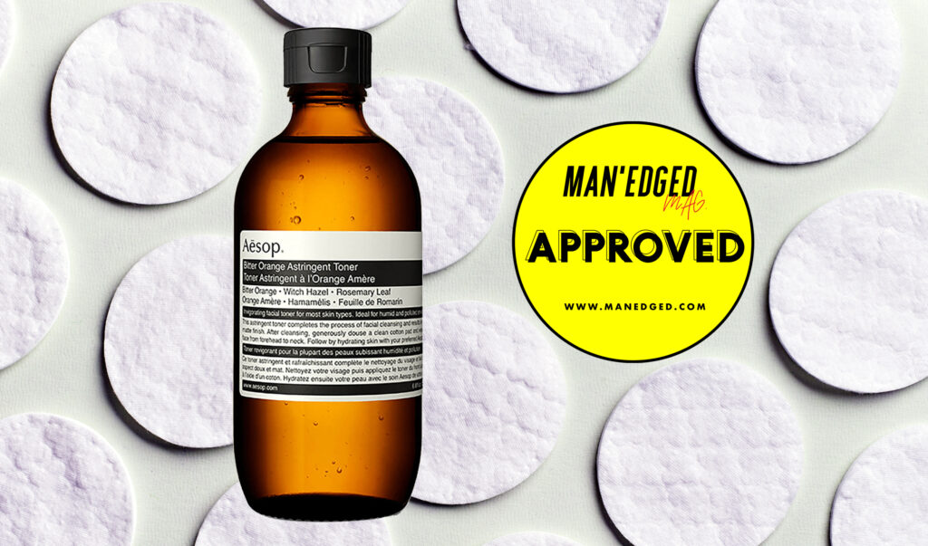 Best Drug store toner for men featuring aesop toner