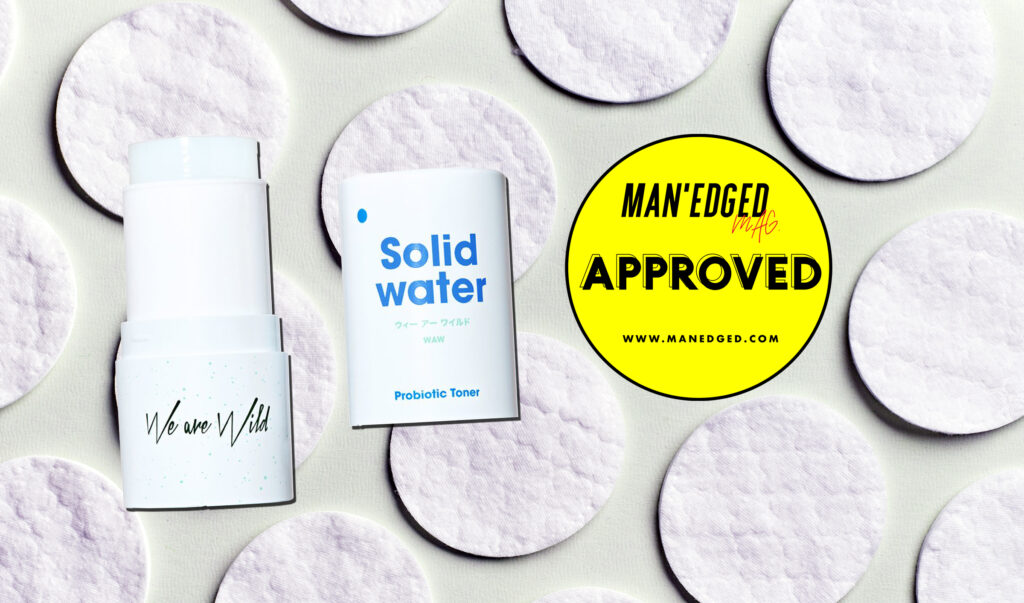 Best Drug store toner for men featuring we are wild solid water