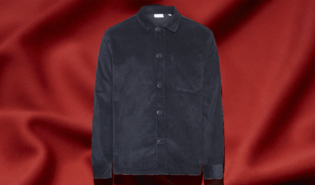8 Wales Corduroy overshirt with button in best men's winter coat roundup