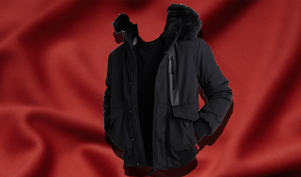 Everest Bomber Jacket in winter coat roundup