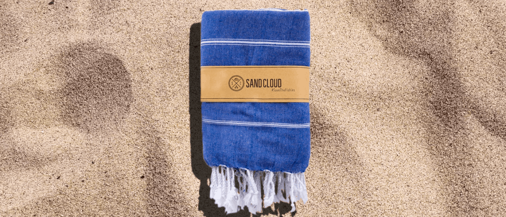 True Blue XL Classic Stripes Beach Towel in Mens Warm Winter Getaway Roundup