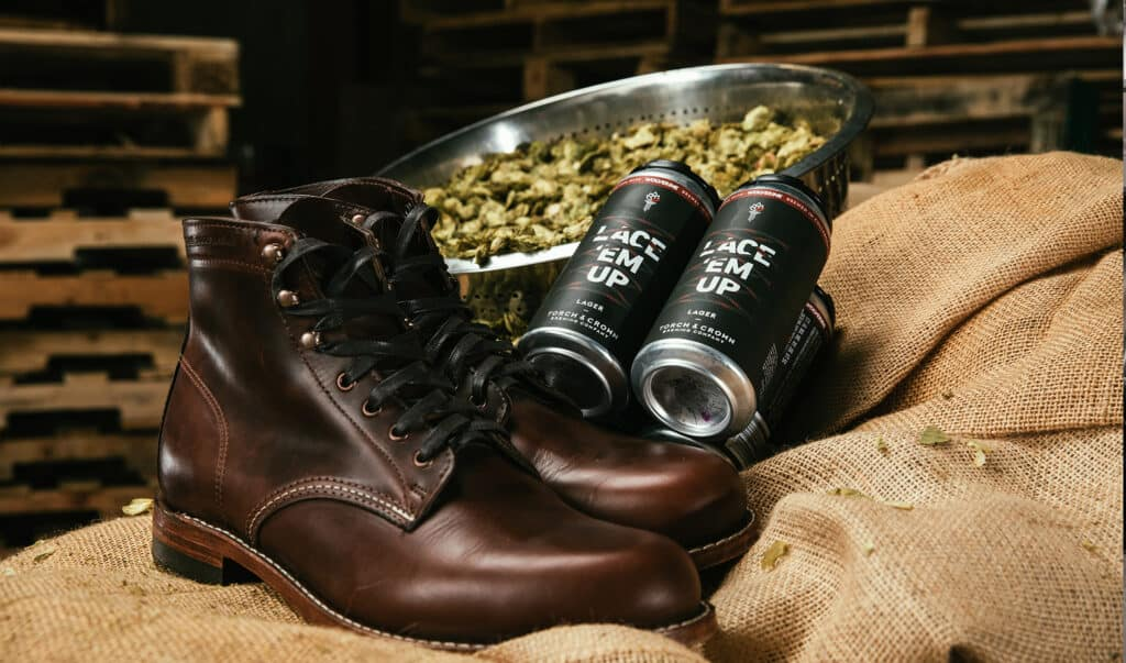 Photo of wolverine boots and the new Torch & Crown Lace Em Up Lager