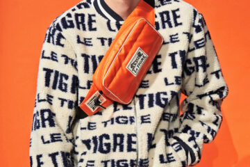Le TIGRE men's jacket presented at New York Men's Day during New York Men's Fashion Week 2020