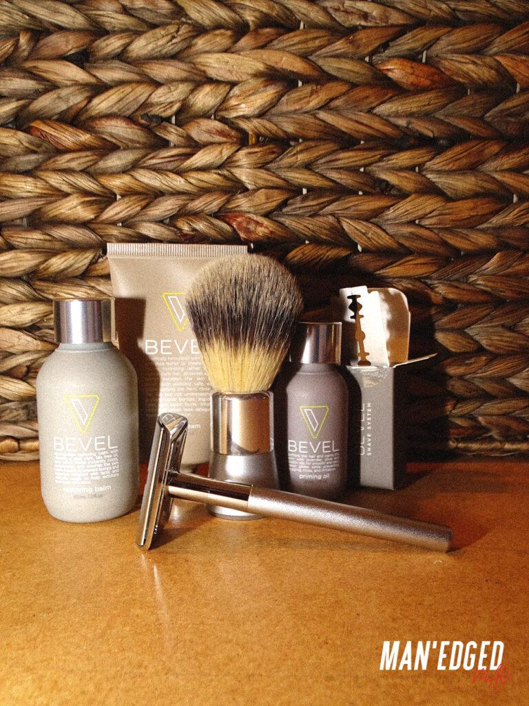 bevel men's shave kit system