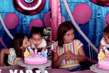 birthday girl viral video