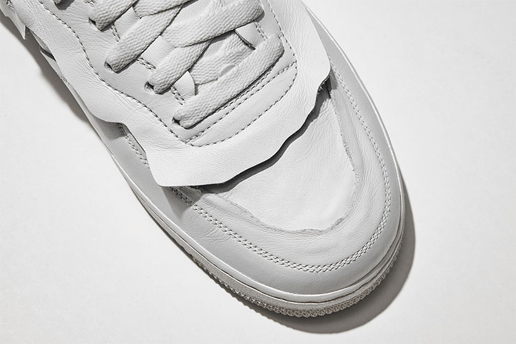white nike x cdg air force 1