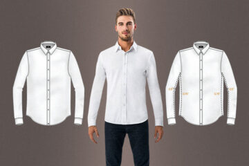 best men's athletic fit dress shirts