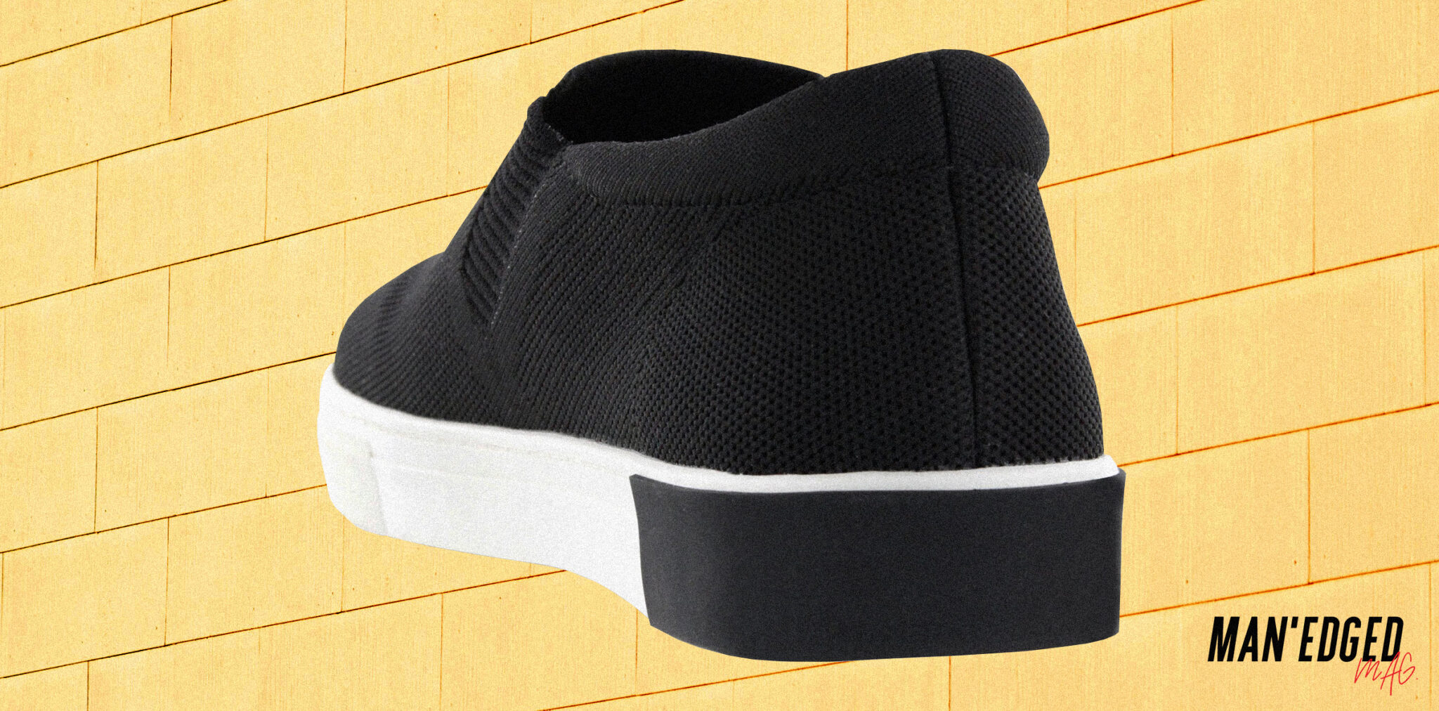 low profile men's slip-on sneaker