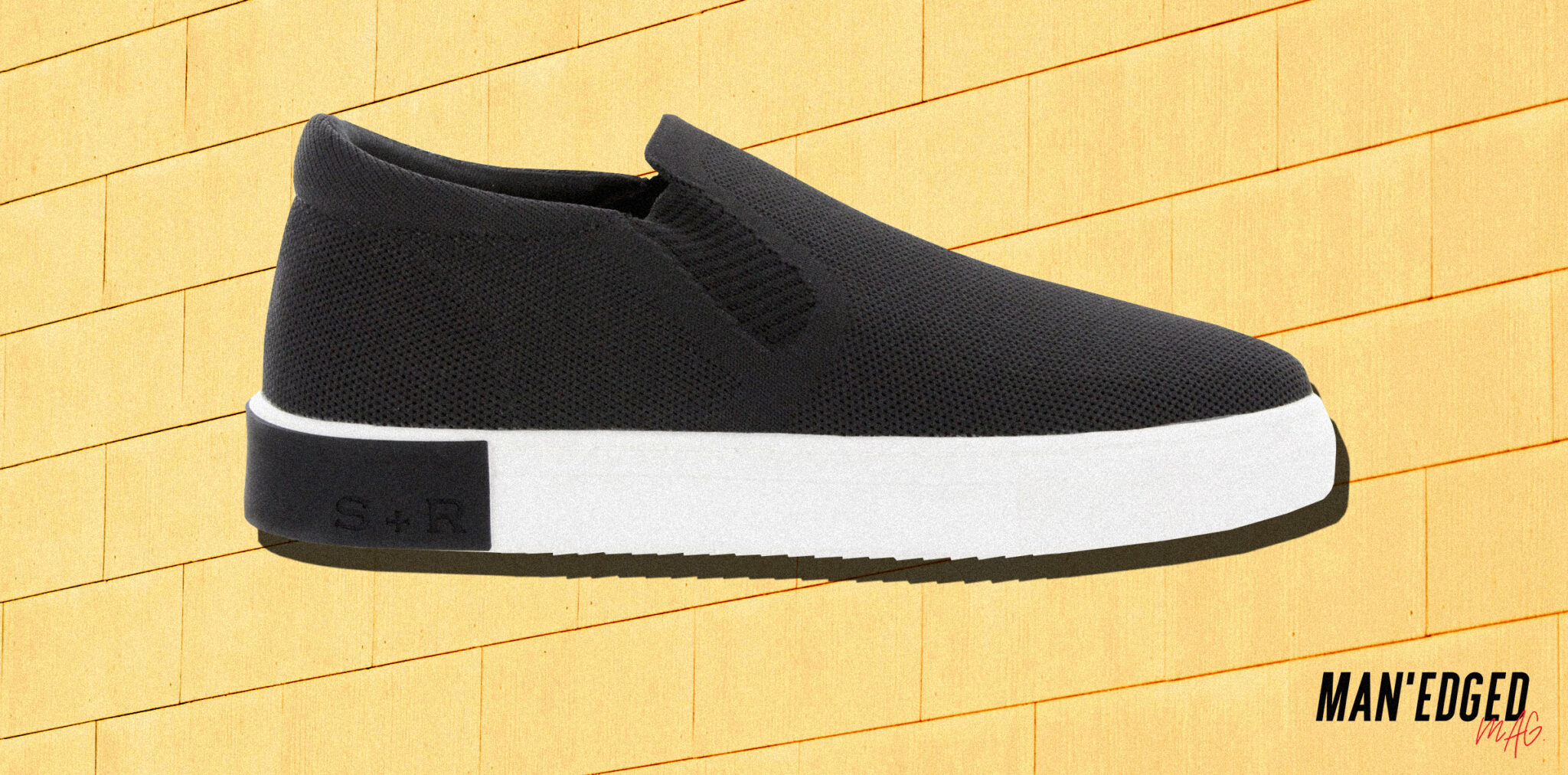 how to wear slip-on sneakers men's